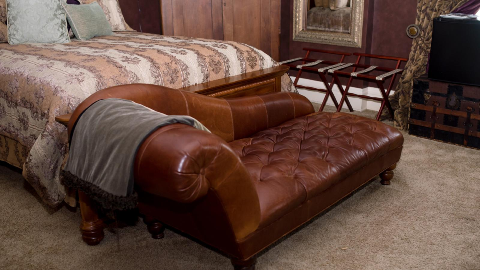 The Wild West Room chaise lounge chair